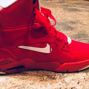 new style 8ab26 b4f2b Nike Shoes - Nike Air Command Force University Red Men Size 7